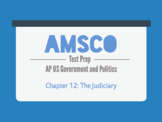 Guided Reading for AMSCO AP US Government - Chapter 12: Th