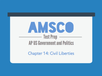 Guided Reading for AMSCO AP US Government - Chapter 14: Civil Liberties