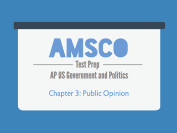 Guided Reading for AMSCO AP US Government - Chapter 3: Public Opinion