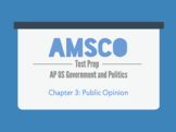 Guided Reading for AMSCO AP US Government - Chapter 3: Pub