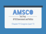 Guided Reading for AMSCO AP US Government - Chapter 9: Con