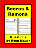 Beezus and Ramona Book Study