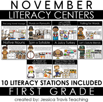 Guided Reading for FIRST GRADE - November