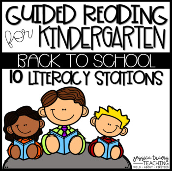 Guided Reading for Kindergarten ~ BACK TO SCHOOL