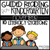 Guided Reading for Kindergarten - November