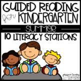 Guided Reading for Kindergarten ~ SUMMER