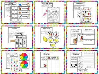 Kindergarten Guided Reading: Level C