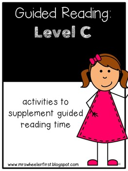 Kindergarten Guided Reading: Level C