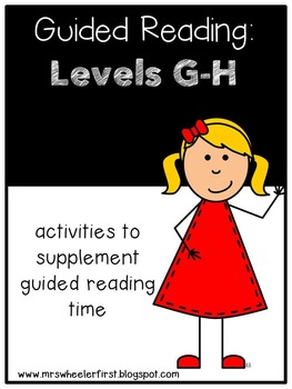 First Grade Guided Reading: Level G and Level H