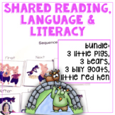 Shared Reading for Speech Language and Special Education 4 unit BUNDLE