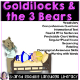Shared & Guided Reading for Special Education with Goldilo