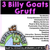 Shared Reading Three Billy Goats Gruff for Speech Language or Special Education