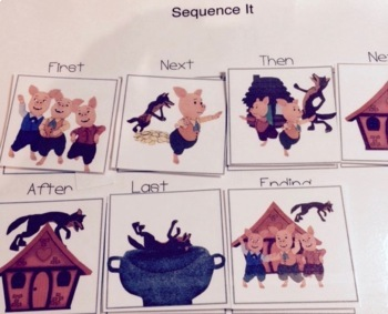 Shared & Guided Reading for Special Education the Three Little Pigs