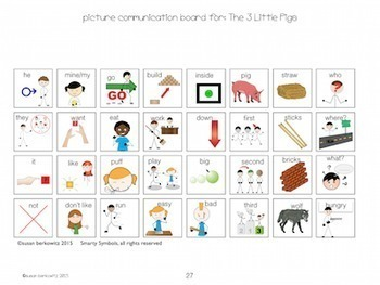 Shared Reading for Speech Language and Special Education the Three Little Pigs