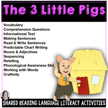 Shared & Guided Reading for Special Education the Three Li