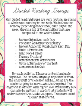 Guided Reading for Students with Significant Needs