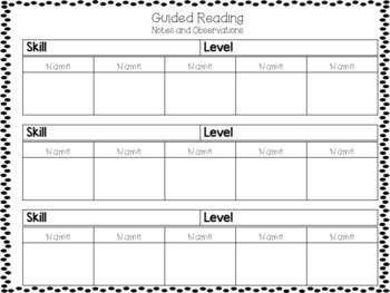 Guided Reading for Third and Fourth Grade