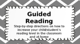 Guided Reading for Virtual Learning/Remote Learning