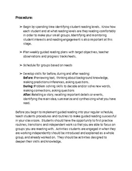 Guided Reading for the 21st Century