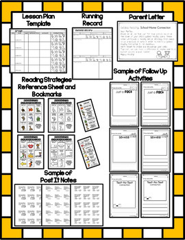 Guided Reading Tools, reading strategies, follow up sheets, story elements