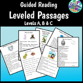 Guided Reading passages for Levels B-D