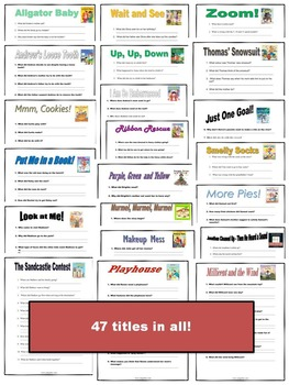 Robert Munsch - Guided Reading for 47 of his books!