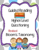Guided Reading with Bloom's Taxonomy