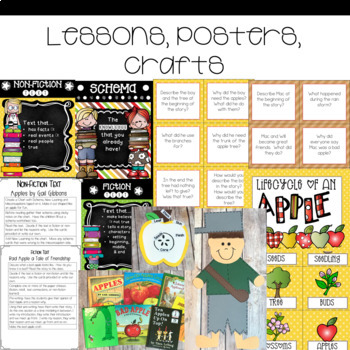 Guided Reading with a Purpose Apples Non-Fiction and Fiction