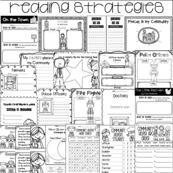 Guided Reading with a Purpose Text to World Community Helpers