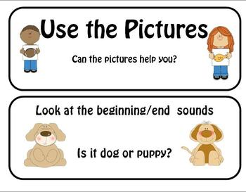 Guided Reading word strategies