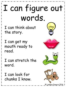 Guided Reading/Centers Goodies for Kindergarten