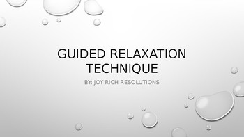 Guided Relaxation Technique