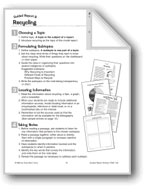 Guided Report Writing: Recycling