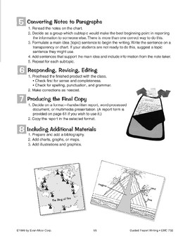 Guided Report Writing: Volcanoes