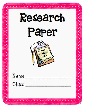 Guided Research Paper Student Packet