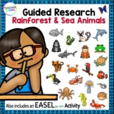 ANIMAL REPORTS | RAIN FOREST & SEA ANIMALS | Research Project Template