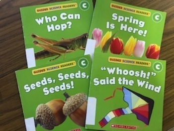 Guided Science Reader Comprehension Questions
