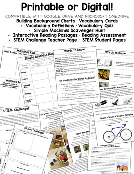 Guided Science: Simple and Complex Machines STEM Unit