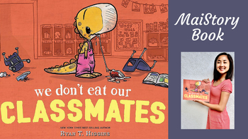 Guided Shared-Reading Interactive Read Aloud + Craft We Don't Eat Our Classmates