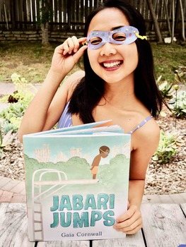 Guided-Shared Reading Interactive Read Aloud + Summer Craft: Jabari Jumps