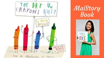 Guided-Shared Reading Interactive Read Aloud and Craft: The Day the Crayons Quit