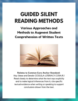 Guided Silent Reading Methods