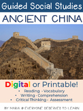 Guided Social Studies: Ancient China