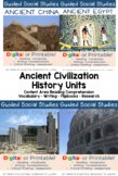 Guided Social Studies: Ancient Civilizations Bundle