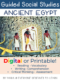 Guided Social Studies: Ancient Egypt