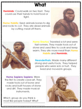 Guided Social Studies: Early Humans