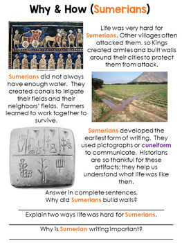 Guided Social Studies: Sumer and Ancient Mesopotamia