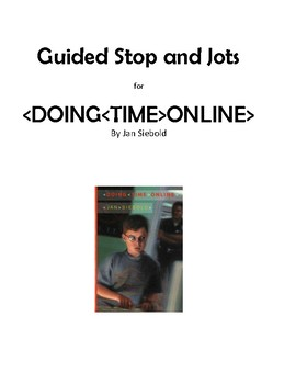 Guided Stop and Jots for Doing Time Online by Jan Siebold