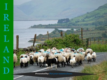 Europe: Scaffolded Research Presentations with Web Links for the British Isles