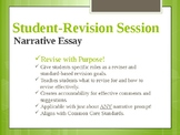 Guided Student-Revision for Narrative Writing